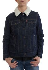 Giacca Jeans Levis Donne BF SHERPA CAMIONISTA 27320-0000 Verso basso A righe