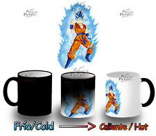 TAZZA MAGICA DRAGON BALL SUPER SAIYAN GOD GOKU MUG HEAT REACTIVE tasse magic