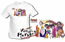 t-shirt ORA DI AVVENTURE personaggi adventure time xxl donna tshirt t-shirt