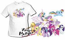 T-SHIRT MY LITTLE PONY principessa celestia y amici di princess tshirt piccolo