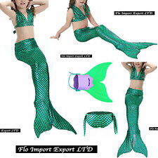 Costume Coda Sirena Monopinna Girl Swimsuit Mermaid Tail Mare Piscina SM0016 V