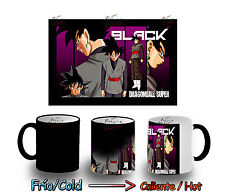 TAZZA MAGICA SUPER BLACK GOKU DRAGON BALL Z MAGIC MUG tazze E'