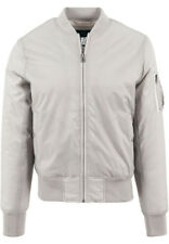URBAN CLASSICS Basic pour hommes veste bomber tb861 Heather Grey