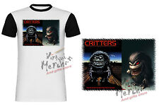 T-SHIRT LOS CRITTERS THE CRITERS RETRO MANICHE NERE tshirt es