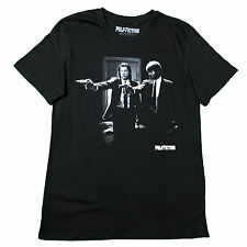 UNISEX Official PULP FICTION Black and White T-Shirt TARANTINO