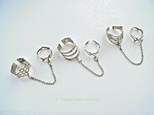 New Fashion Ladies Rings Adjustable Adjoining Knuckle Two Finger Joint Rings-UK