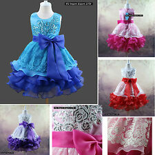 Vestito Bambina Abito Cerimonia Elegante Girl Party Princess Dress CDR056