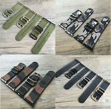 Replacement Nylon Fabric Watch band Strap for Apple Watch Series 1 2 3 38/42mm