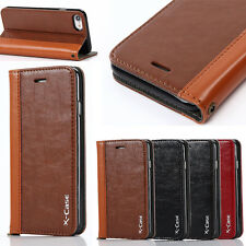 Luxury Leather Magnetic Wallet Flip Card Case Cover For Apple iPhone 7