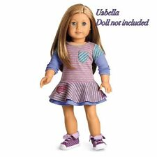 SCHOOL STRIPES DRESS American Girl Doll Clothes Outfit New In Box NO DOLL