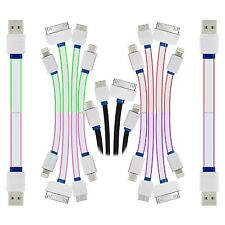 4 in 1 Cable For iPhone 5,6,7 Lightning, Micro USB, micro B, 30 PIN plug Cable