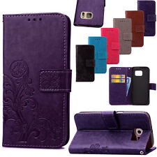 Thin Leather Card Wallet Shockproof Case Cover For Samsung Galaxy S7 S