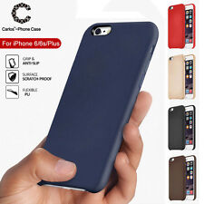 Luxury Ultra-thin Soft Leather Back Skin Case Cover For Apple iPhone 6