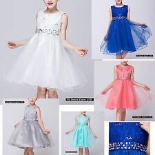 Vestito Bambina Abito Cerimonia Feste Elegante Girl Party Princess Dress CDR059