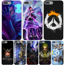 Coque Overwatch Game Soldiers Hard Case Galaxy S A J G Note Huawei All Iphone