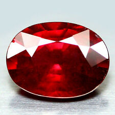 4.26 CT NATURAL! PINK RED AFRICA RHODOLITE GARNET OVAL