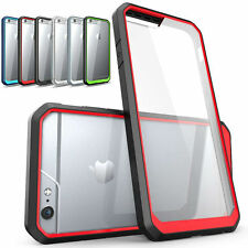 Shockproof Hybrid Transparent Armor Hard Back Case Cover for iPhone 6