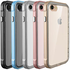Hybrid Clear Back Shockproof Bumper TPU Case Cover for Apple iPhone 7