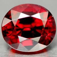 2.45 CT AAA! NATURAL! RED AFRICAN SPESSARTITE GARNET OVAL