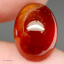 8.49 CT NATURAL! ORANGE AFRICAN HESSONITE GARNET OVAL CABOCHON