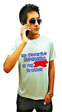 LetsFlaunt Super Brother T-shirt Grey Dry-Fit Nw (LetsFlaunt-324-NW)