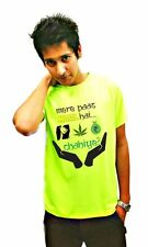 LetsFlaunt Mere paas maal hai T-shirt green Men's Dry-Fit Nw (LetsFlaunt-236-NW)