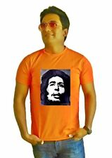 LetsFlaunt Bob marley orange Men's Dry-Fit Nw (LetsFlaunt-3267-NW)
