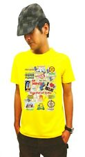 LetsFlaunt Delhi Meri Jaan T-shirt Men Yellow Dry-Fit Nw (LetsFlaunt-76-NW)