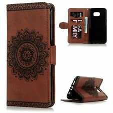 Luxury Slim Flip Leather Wallet Stand Cover Case For Samsung Galaxy S7