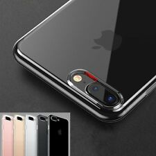 Luxury Ultra thin Slim Crystal Clear Case Silicone Soft Cover For iPho