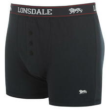 MENS NAVY 2 PACK LONSDALE BOXER SHORTS UNDERWEAR SIZES S M L XL XXL XXXL XXXXL