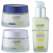 Lacura® Q10 Anti-Wrinkle Face Care Renew SPF 20 Day Night Cream Serum Skin Gift