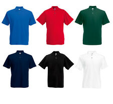 Original Herren Polo Shirt von Fruit of the Loom Poloshirt Hemd