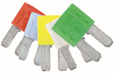 GENUINE LED Micro 2 Blade Fuse Assorted Pack 10/15/20/25/30amp 5 Pc | Connect 37