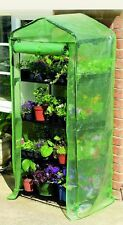 Gardman 4 Tier Growhouse Mini Garden Plant Greenhouse with Reinforced Cover