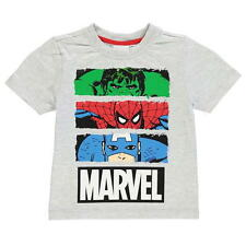 BOYS KIDS CHILDRENS AVENGERS SHORT SLEEVE T-SHIRT SHIRT TOP