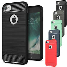 Ultra Thin Shockproof Rubber Hybrid TPU Back Case Cover For Apple iPho