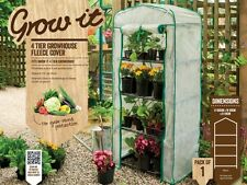 Gardman 4 Tier Mini Greenhouse Fleece Cover Frost Protection Replacement Cover