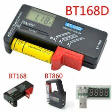 AA AAA C D 9V 1.5V Universal Button Cell Battery Volt Tester Checker Indicato HK