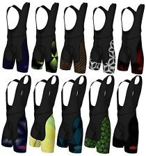 Didoo Men's Performance Cycling Bib Shorts Outdoor Padded Cycle Road Bike Pants