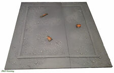 Wargames Terrain: Urban/Rubble Terrain Building Bases Warhammer 40K City Fight