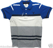 Men's Branded Look with Striped Matty Cotton Slim Fit T-shirt # Size M,L,XL