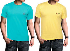 Timbre Men Stylish Round Neck Cotton TShirts Combo Pack Of 2