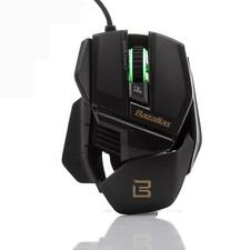 2000DPI Gaming Mouse da Gioco 6 Tasto USB Wired Mice Nero