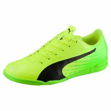 PUMA evoSPEED 17.5 IT Men's Indoor Training Shoes Football Low Boot Male Nuovo