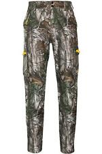 Mens Camouflage Realtree Xtra Waterproof Breathable Trousers Outdoor Pants