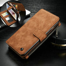 For Samsung Galaxy S7 Edge Leather Removable Wallet Flip Card Phone Ca