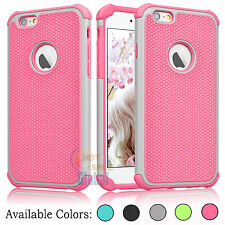 Ultra Thin Shockproof Bumper Rubber Hard Case Cover for Apple iPhone 6