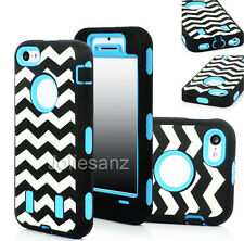 Hybrid Shockproof Hard Soft Rugged Rubber Cover Case For Apple iPhone
