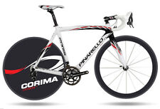 2013 Corima Carbon Plus + Disc Wheel Decals Stickers Carbon